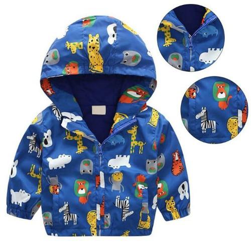 Áo khoác in họa tiết dành cho bé