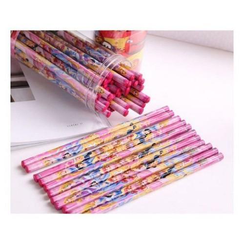 hộp 50 bút chì hoạt hình ngộ nghĩnh
