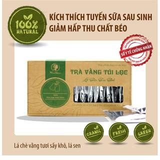 20 túi- Trà vằng túi lọc lợi sữa Wonmom cho Mẹ sau sinh-giảm mỡ bụng - TUI30 thumbnail