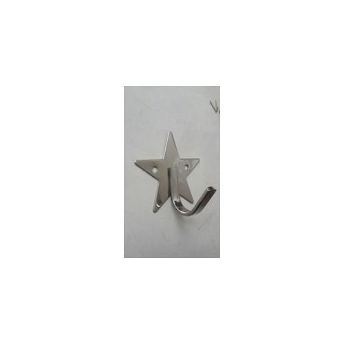 Móc áo đơn - móc treo tường - móc treo - hình ngôi sao