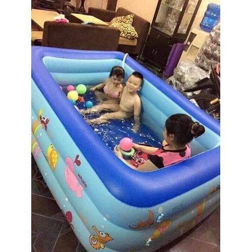 bể bơi 3 tầng m5