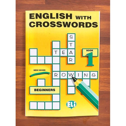Sách- English With Crosswords 1