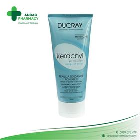 Gel rửa mặt tạo bọt cho da dầu và mụn Ducray Keracnyl foaming 200ml - TH1889-rửa mặt