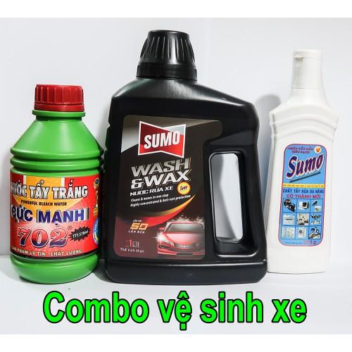 1 chai nước rửa xe, 1 chai tẩy đa năng Sumo và 1 chai tẩy lốc máy 702 - 8118053 , 17742977 , 15_17742977 , 130000 , 1-chai-nuoc-rua-xe-1-chai-tay-da-nang-Sumo-va-1-chai-tay-loc-may-702-15_17742977 , sendo.vn , 1 chai nước rửa xe, 1 chai tẩy đa năng Sumo và 1 chai tẩy lốc máy 702