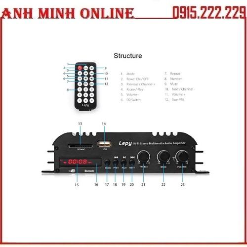 Ampli Bluetooth Công Suất Lớn LEPY 269S - Bộ Khuếch Đại Âm Thanh - 11419472 , 17744405 , 15_17744405 , 685000 , Ampli-Bluetooth-Cong-Suat-Lon-LEPY-269S-Bo-Khuech-Dai-Am-Thanh-15_17744405 , sendo.vn , Ampli Bluetooth Công Suất Lớn LEPY 269S - Bộ Khuếch Đại Âm Thanh