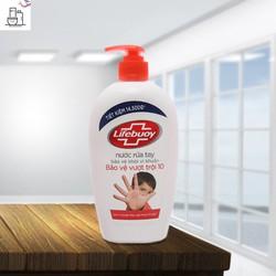 Nước Rửa Tay Lifebuoy Bảo Vệ Vượt Trội 500g