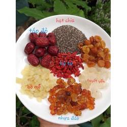 Set nguyên liệu nấu chè dưỡng nhan