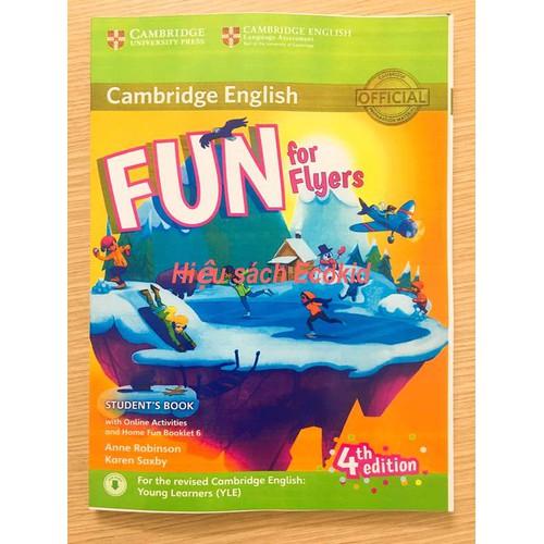 Cambridge- Fun For Flyers- 4th