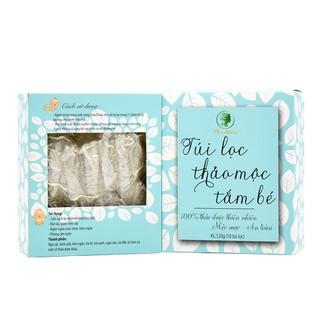 Hộp 10 túi lọc thảo dược tắm bé Wonmom ngăn ngừa hăm ngứa, giảm rôm sẩy cho bé 120g Việt Nam - TUI29 thumbnail