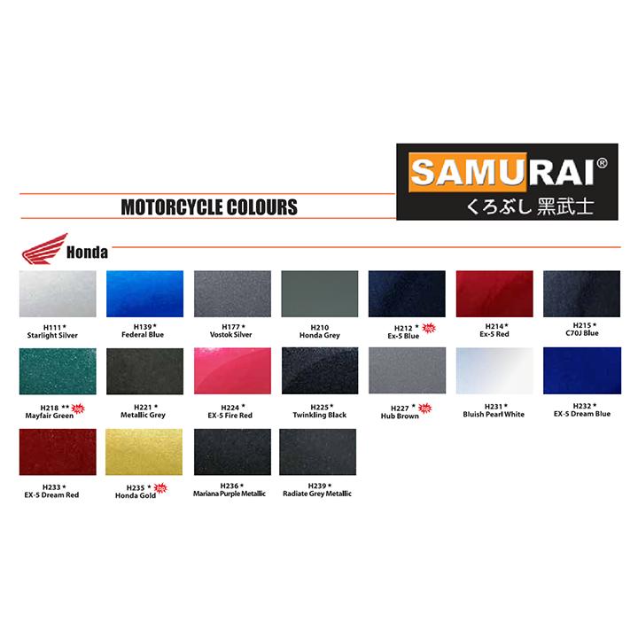 H749 _ Sơn xit Samurai H749 màu xám mờ _ Matte grey _ Tốt, ship nhanh, giá rẻ 3