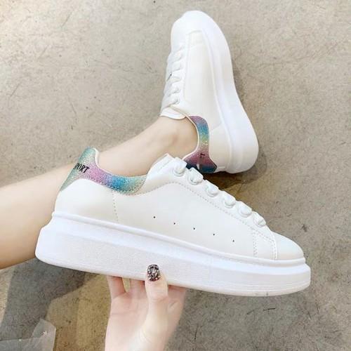 Giày sneaker nữ cổ thấp siêu chất - 8144012 , 17757027 , 15_17757027 , 295000 , Giay-sneaker-nu-co-thap-sieu-chat-15_17757027 , sendo.vn , Giày sneaker nữ cổ thấp siêu chất