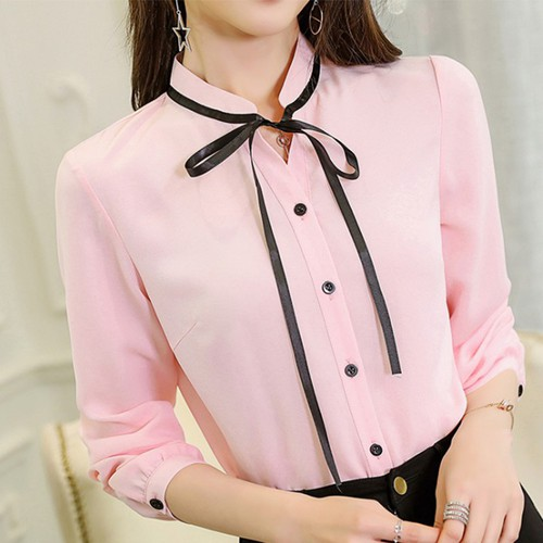 Áo Sơ Mi Nữ Dài Tay Công Sở Style Hàn Quốc Mới 2019 - AG20 - 4932015 , 17751577 , 15_17751577 , 350000 , Ao-So-Mi-Nu-Dai-Tay-Cong-So-Style-Han-Quoc-Moi-2019-AG20-15_17751577 , sendo.vn , Áo Sơ Mi Nữ Dài Tay Công Sở Style Hàn Quốc Mới 2019 - AG20