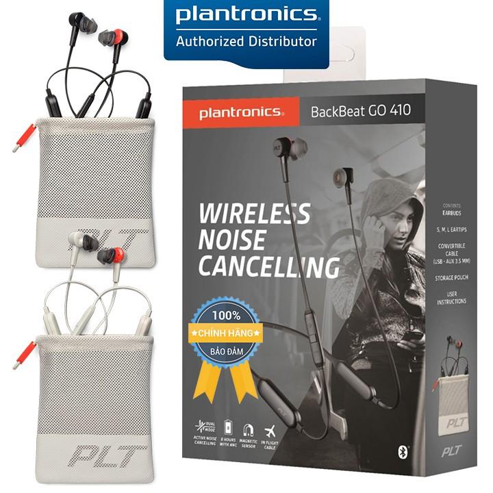 Tai Nghe Bluetooth Plantronics BackBeat GO 410 -  Active Noise Canceling
