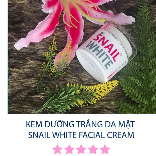 SNAIL WHITE Facial Cream - KEM TRẮNG DA MẶT SNAIL WHITE