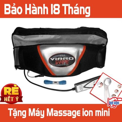 Đai rung massage giảm mỡ
