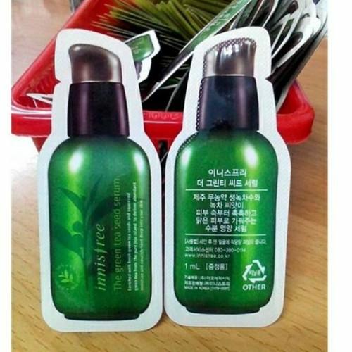 Combo 5 Gói Sample Green Tea Seed Serum 1ml Từ Hàn Quốc