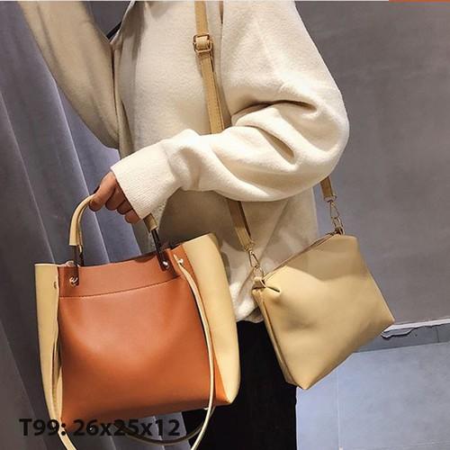 Bộ Túi xách tay đeo chéo nữ công sở sang chảnh - 4726703 , 17745923 , 15_17745923 , 210000 , Bo-Tui-xach-tay-deo-cheo-nu-cong-so-sang-chanh-15_17745923 , sendo.vn , Bộ Túi xách tay đeo chéo nữ công sở sang chảnh