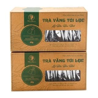 40 túi- Trà vằng túi lọc lợi sữa Wonmom cho Mẹ sau sinh-giảm mỡ bụng 40gram Việt Nam - TUI31 thumbnail