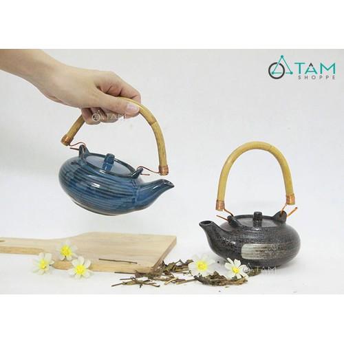 Ấm trà gốm giả cổ số 54