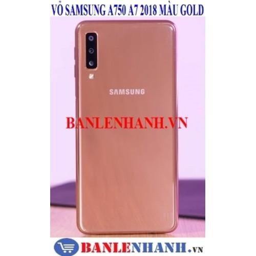 VỎ SAMSUNG A750 A7 2018 MÀU GOLD