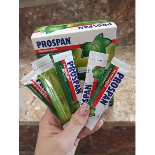 siro ho Prospan dạng gói
