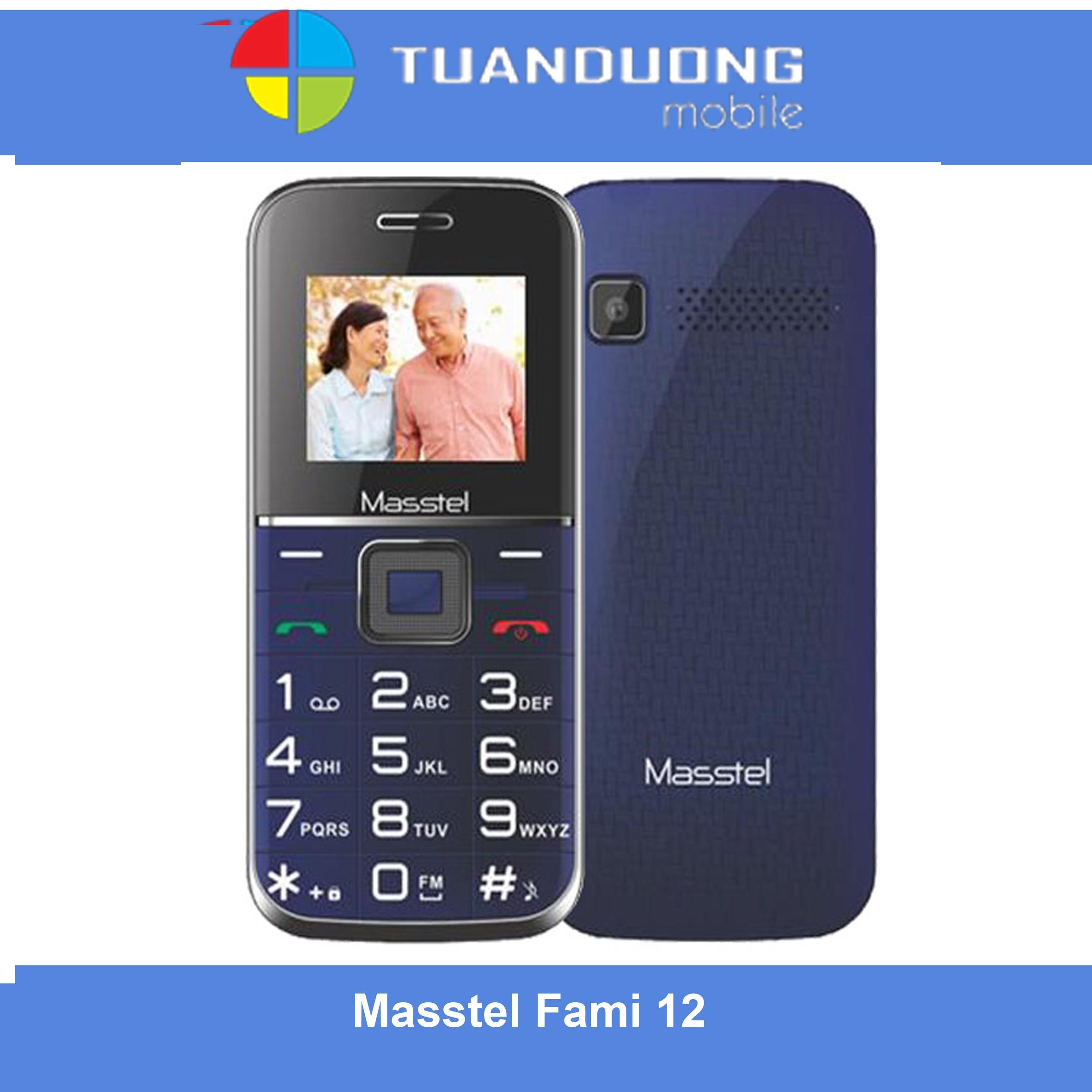 Điện thoại masstel fami 12 số to hàng chính hãng