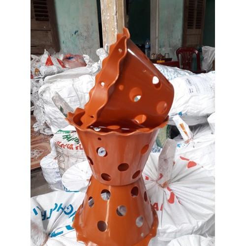 Bộ 10 chậu giả đât nung miệng hoa kích thước 18x12x10cm trồng lan - 8157993 , 17763263 , 15_17763263 , 55000 , Bo-10-chau-gia-dat-nung-mieng-hoa-kich-thuoc-18x12x10cm-trong-lan-15_17763263 , sendo.vn , Bộ 10 chậu giả đât nung miệng hoa kích thước 18x12x10cm trồng lan