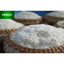 Nếp Hương 1kg  - trắng hạt dài dẻo nhiều thơm hạt - túi PE trắng trơn