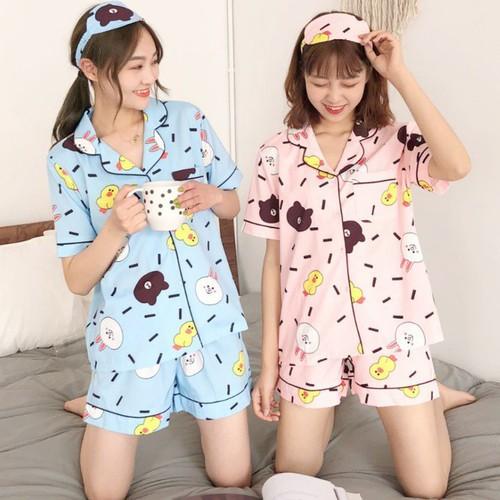 Bộ ngủ pijama Đùi Nữ Dễ Thương Chất Liệu Đẹp Thoáng Mát - 8163634 , 17766099 , 15_17766099 , 140000 , Bo-ngu-pijama-Dui-Nu-De-Thuong-Chat-Lieu-Dep-Thoang-Mat-15_17766099 , sendo.vn , Bộ ngủ pijama Đùi Nữ Dễ Thương Chất Liệu Đẹp Thoáng Mát