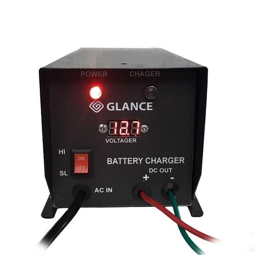 Máy sạc ắc quy 12v200Ah cho máy phát điện GLANCE LED