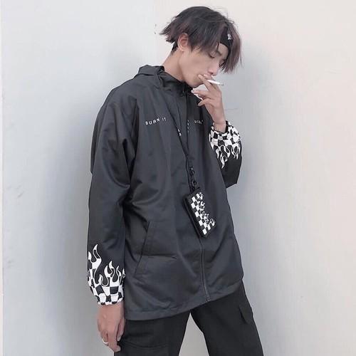 Áo khoác dù phong cách Hàn