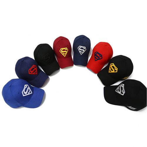 Mũ Thể Thao Thêu Logo Siêu Nhân Nhiều Màu