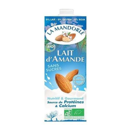 Sữa nước hạnh nhân hữu cơ La Mandorle 1L