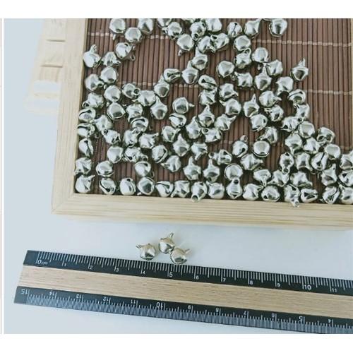 10gam 55 cái chuông bạc 6ly làm handmade
