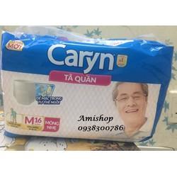 Tã quần Caryn size M - 16 miếng