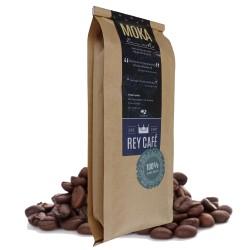 Cà phê Moka Đam Mê - Gói 500gr - Coffee Moka-Robusta-Culi nguyên chất có bơ - Rey Cafe