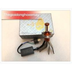 đèn Pha Led CYT xịn - Chân H4 -3 Tim