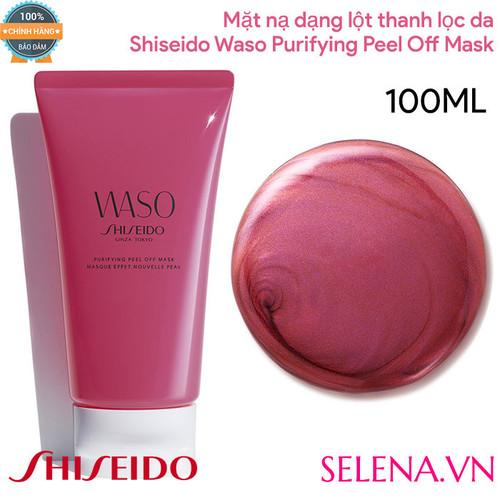 Mặt nạ dạng lột thanh lọc da Shiseido_ Waso Purifying Peel Off Mask 100ML