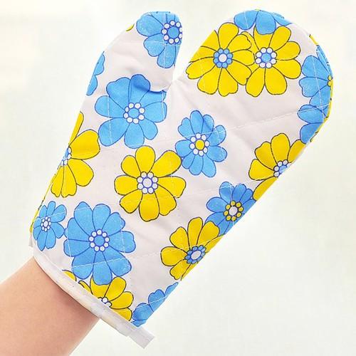 Găng tay bắc nồi làm bánh bằng vải cách nhiệt - 1 chiếc