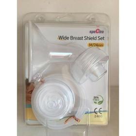2 SIZE - Bộ phụ kiện hút sữa Spectra cổ rộng thay thế cho máy hút sữa điện - BPK00