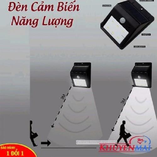 đèn cảm ứng hồng ngoại thông minh tự sáng khi có người