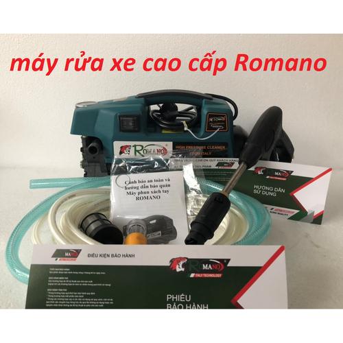 Máy rửa xe cao cấp Romano
