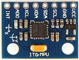 Module cảm biến gia tốc góc 6truc MPU 6050 do hãng InvenSense.