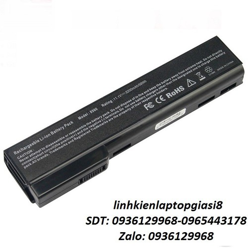 Pin laptop Hp EliteBook 8460W 8460P 8470P 8560P