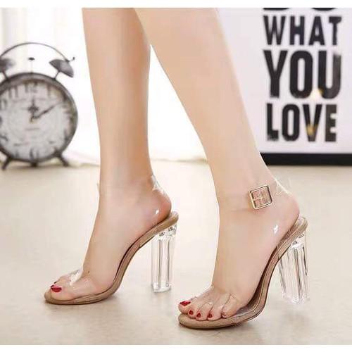 Giày sandal cao gót bản trong - 8228930 , 17783977 , 15_17783977 , 245000 , Giay-sandal-cao-got-ban-trong-15_17783977 , sendo.vn , Giày sandal cao gót bản trong