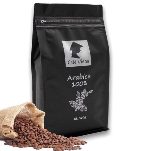 Cafe rang xay nguyên chất Arabica Robusta - Vien