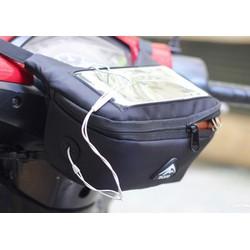 Túi treo đầu xe máy chống nước có cảm ứng điện thoại