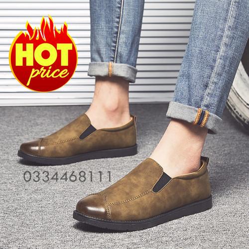 giày nam tăng chiều cao IZNS9242