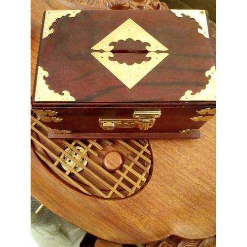 Hộp đựng đồ trang sức bằng gỗ hương đỏ KT 20*12*10cm -shop đồ gỗ Nhân Ái - 7462750 , 17181947 , 15_17181947 , 275000 , Hop-dung-do-trang-suc-bang-go-huong-do-KT-201210cm-shop-do-go-Nhan-Ai-15_17181947 , sendo.vn , Hộp đựng đồ trang sức bằng gỗ hương đỏ KT 20*12*10cm -shop đồ gỗ Nhân Ái