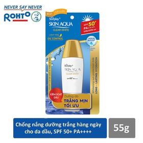 Sữa chống nắng hằng ngày dưỡng trắng Sunplay Skin Aqua Clear White SPF 50+, PA++++ 25g - SUP021453